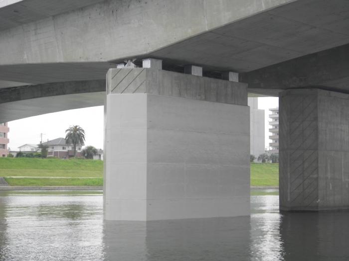 国道220号橘橋下りP4耐震補強工事