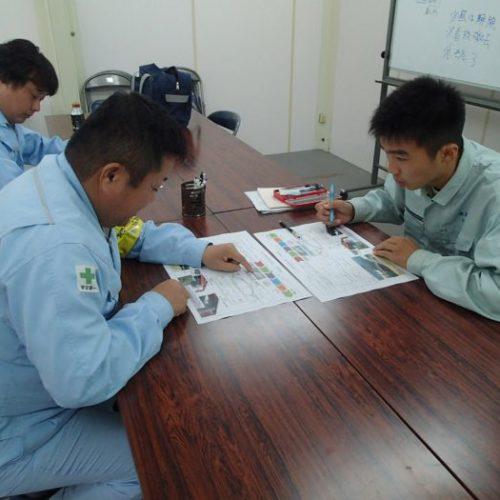 日向工業高校の生徒がインターンシップにきました!(H29.10.11~13、10.18~20)