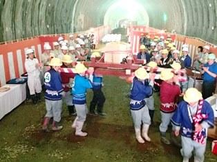 平成24年度 交付建設 第2-45-1号 国道219号 十五番工区 十五番トンネル工事