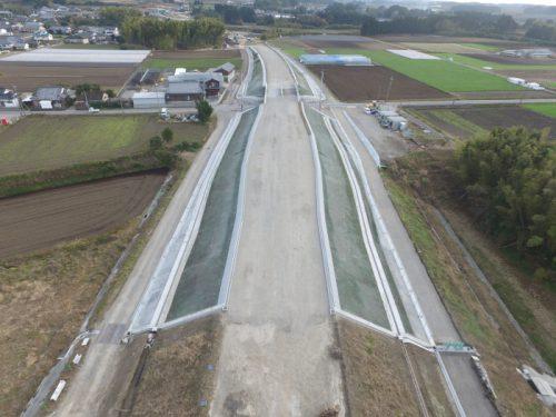 平成27年度連携地方第92-1-10号 県道飯野松山線 梅北工区 道路改良工事