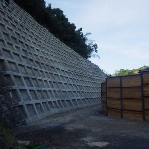 平成26年度防災急傾 第28-2号 鶴ノ前地区 急傾斜地崩壊対策工事