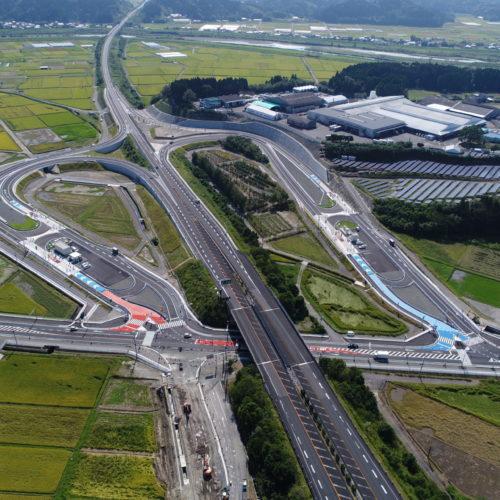 東九州自動車道 国富スマートインターチェンジ舗装工事