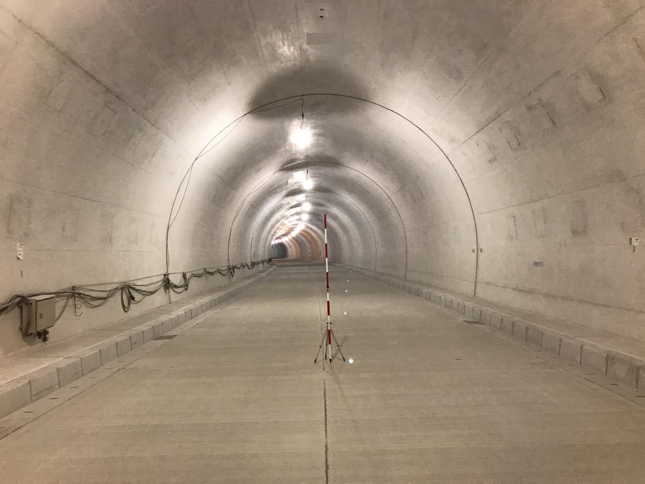 平成30年度30道路関連第3-3号 国道448号 藤工区(仮称)藤トンネル工事(2工区)施工例